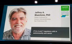 Jeffrey Bluestone AACR 2019