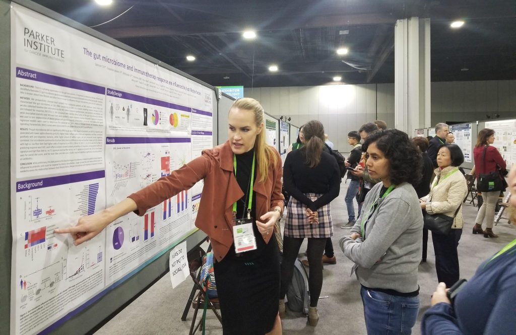 Christine Spencer Microbiome Poster AACR 2019